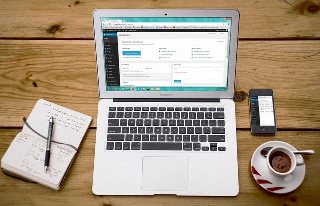 Publishing a blog post via Wordpress
