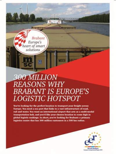 Brabant flyer logistics trade fair