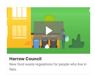 Video intro example - Harrow Council