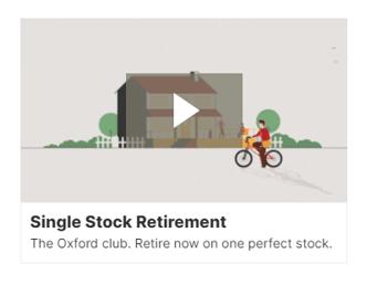 Video intro example - single stock retirement