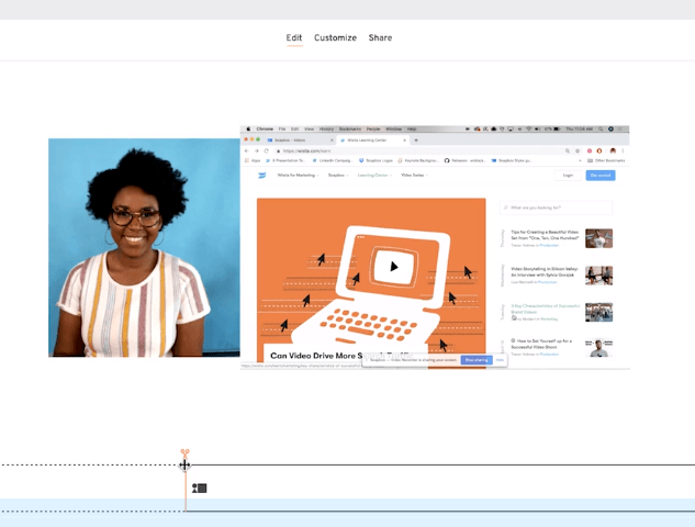 Wistia Soapbox - A Free Webcam and Screen Recorder for Chrome